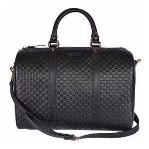 Gucci Guccissima Boston Satchel Shoulder Bag